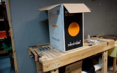 Construyendo una caja de resinas Parte 1
